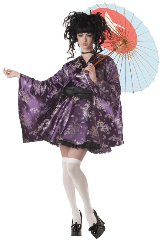 Déguisement de femme geisha