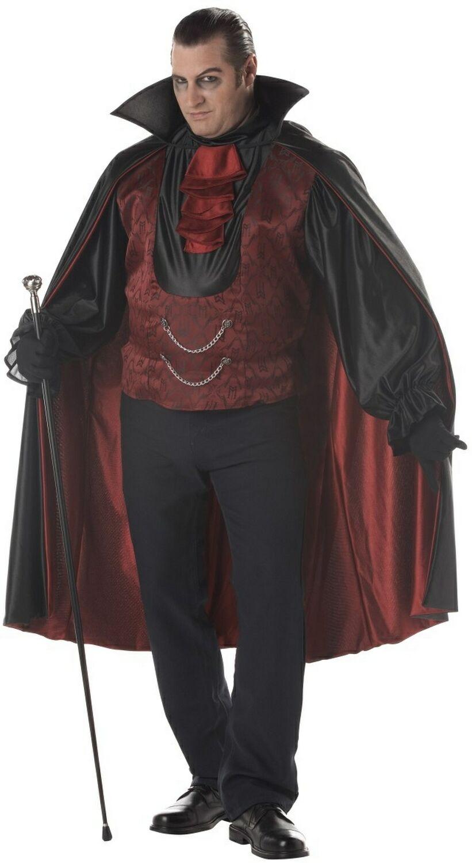 d guisement conte dracula adulte costume halloween vampire. Black Bedroom Furniture Sets. Home Design Ideas