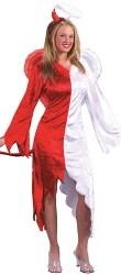 déguisement mi ange mi démon