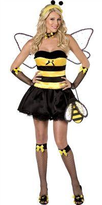 deguisement sexy abeille