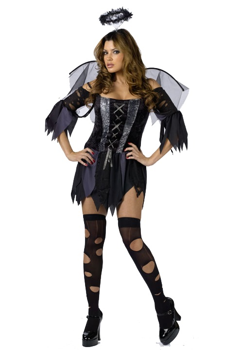 aile d ange en tatouage. Ce déguisement d'ange noir n'est pas aussi divin qu'il n'y parat,