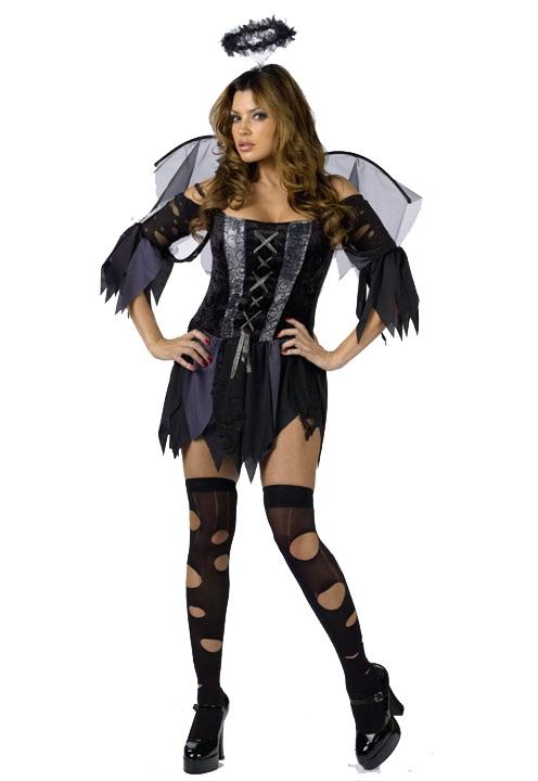 Deguisement ange noir