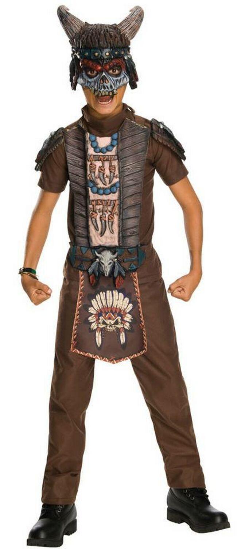 déguisement guerrier indien