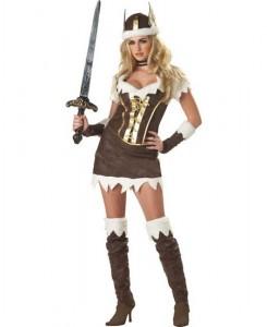 deguisement viking femme