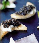 lune de caviar de poisson