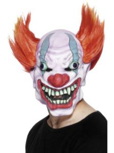masque clown horrible