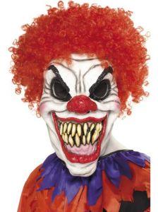 Masque de clown monstrueux