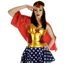 wonder woman costume de super héros