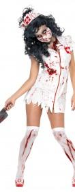 Déguisement zombie infirmière