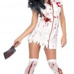 d guisement infirmi re zombie costume sage femme halloween. Black Bedroom Furniture Sets. Home Design Ideas