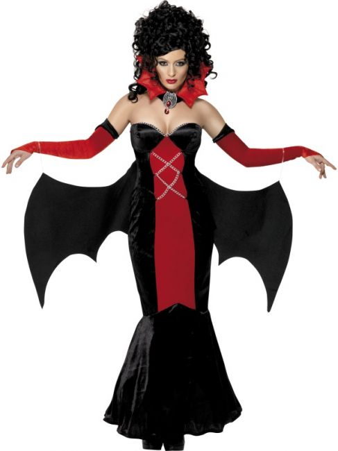 d guisement sexy vampire femme robe de vampiresse halloween. Black Bedroom Furniture Sets. Home Design Ideas