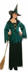 Robe de sorcière halloween
