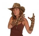 chapeau léopard western