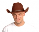 chapeau marron cowboy