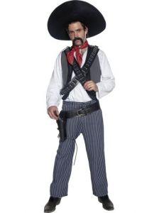 deguisement bandit mexicain