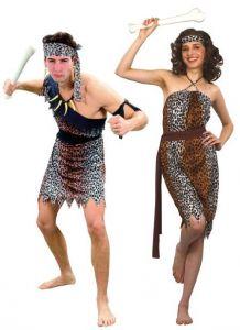 deguisement prehistoire couple