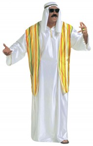 déguisement emir arabe