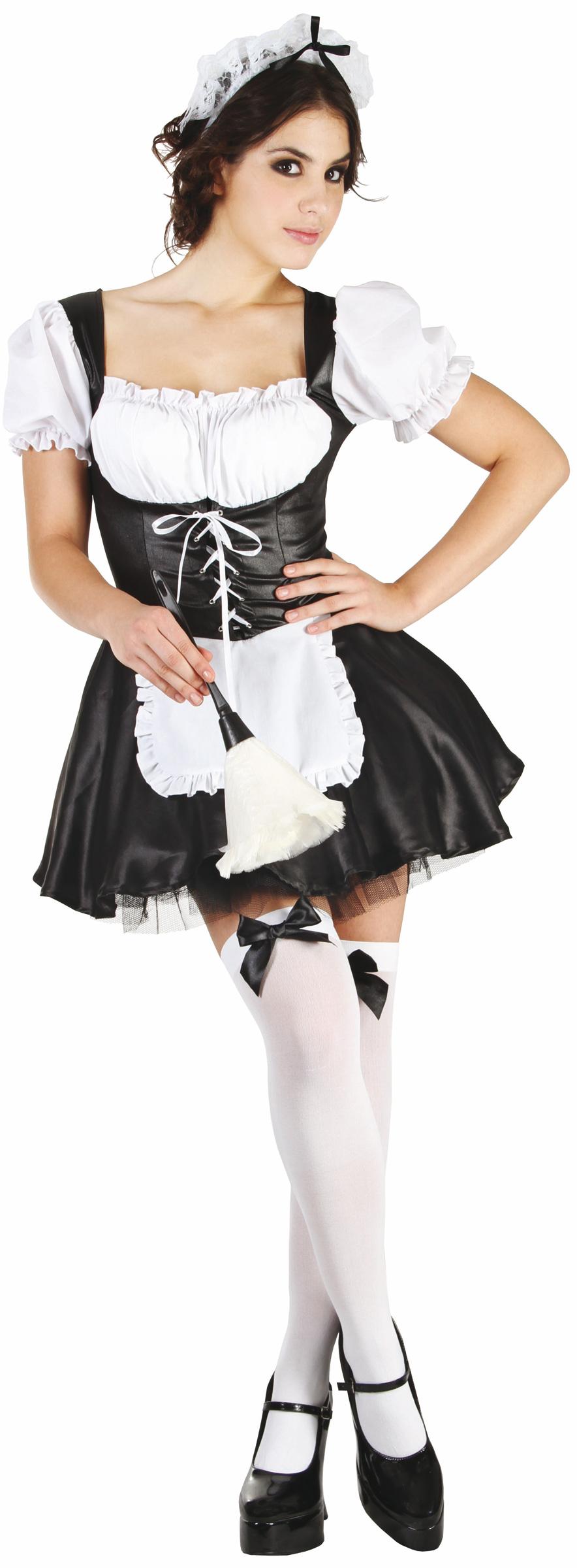 d guisement femme de chambre d guisement servante tenue soubrette sexy. Black Bedroom Furniture Sets. Home Design Ideas