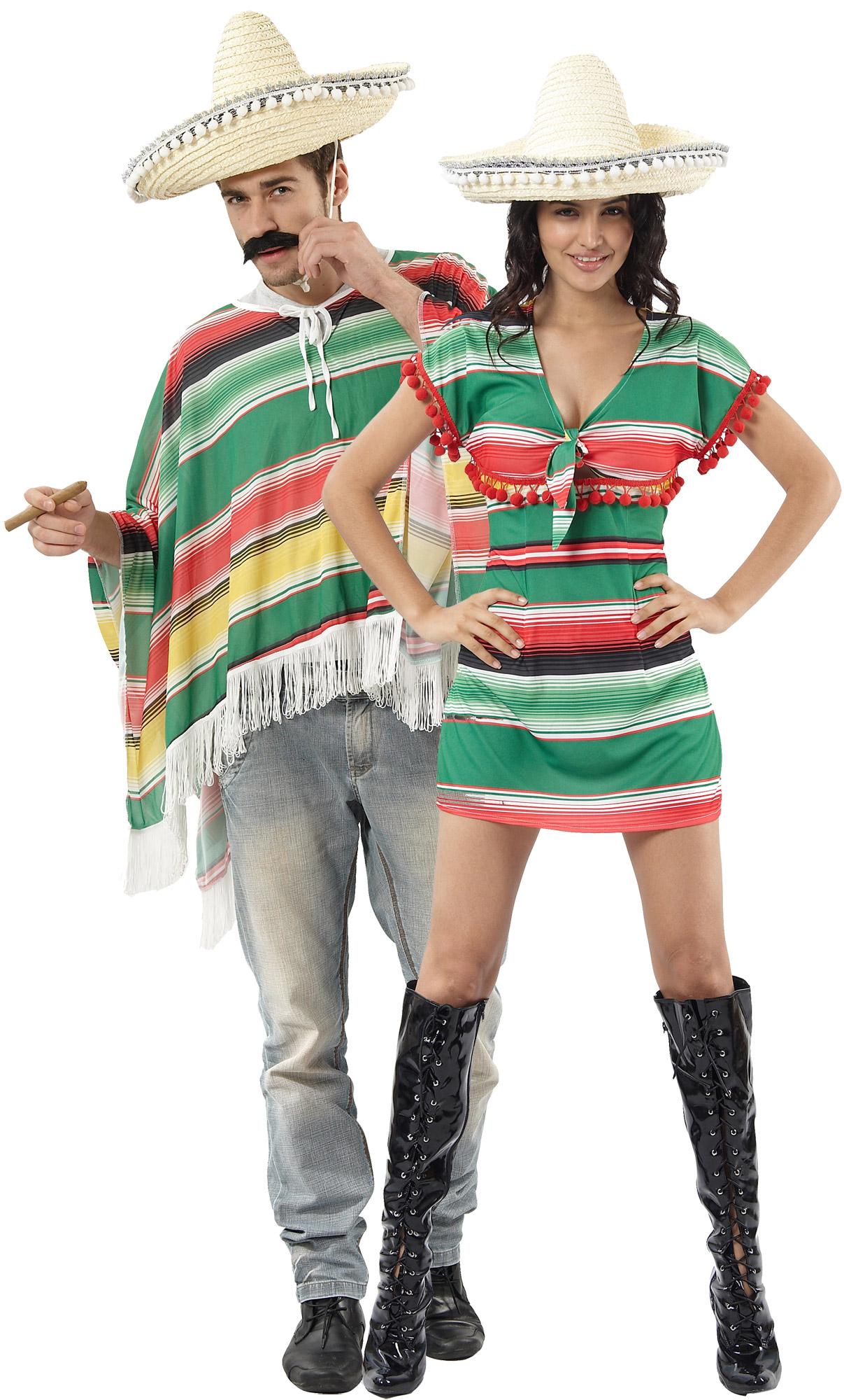 déguisement mexicain couple