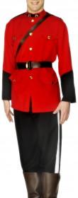 Déguisement canadien soldat