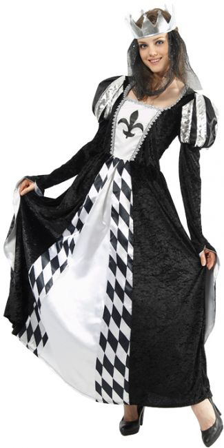 déguisement reine