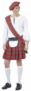 déguisement ecossais
