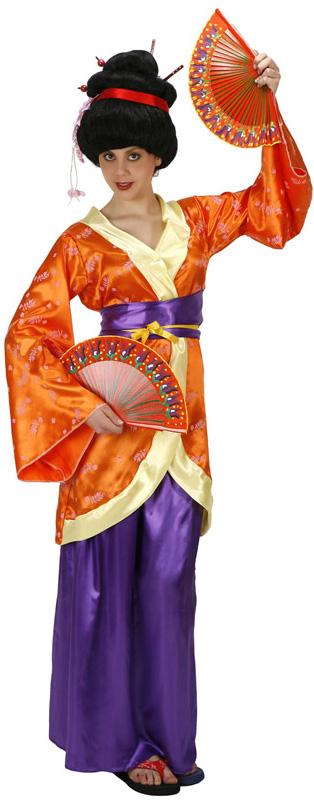 deguisement geisha femme
