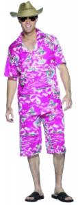 deguisement hawaien homme