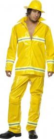 Déguisement pompier adulte