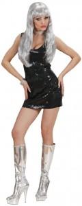 robe disco noire
