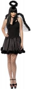 déguisement ange noir