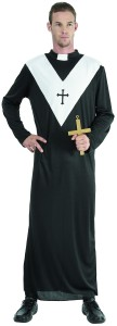 déguisement de curé