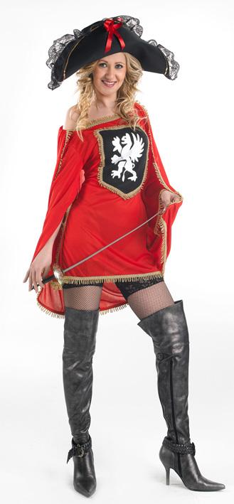 déguisement mousquetaire femme