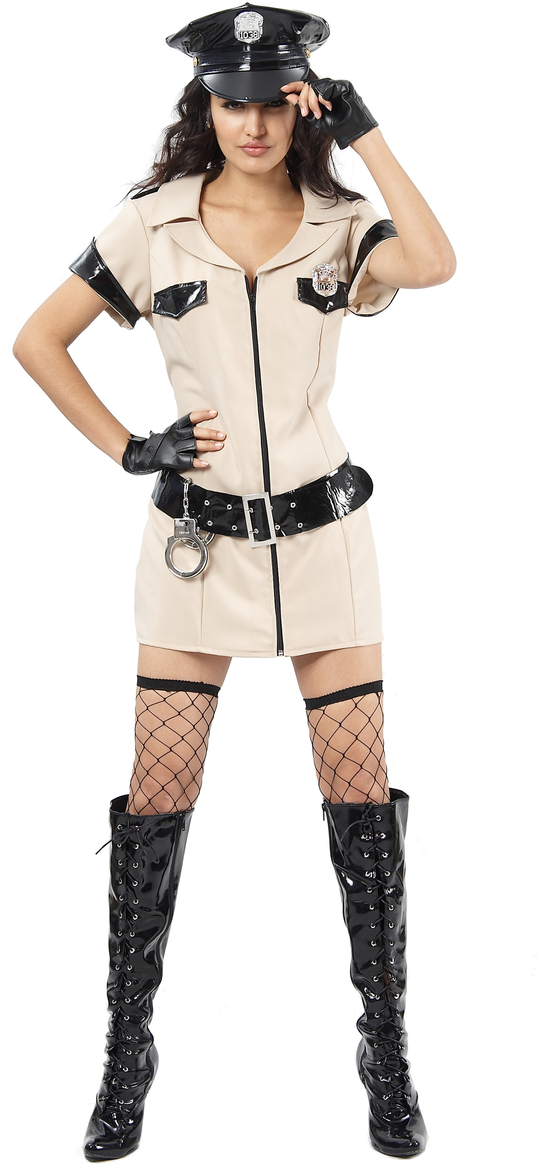 d guisement polici re sexy costume police femme usa. Black Bedroom Furniture Sets. Home Design Ideas