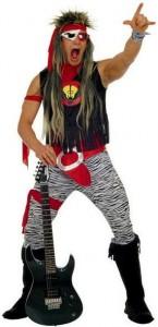 deguisement rock star
