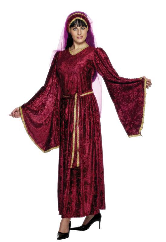 robe médievale femme