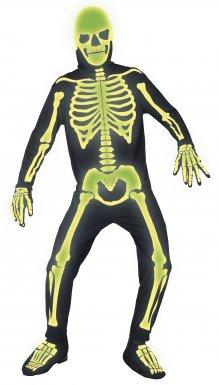 Déguisement de squelette homme