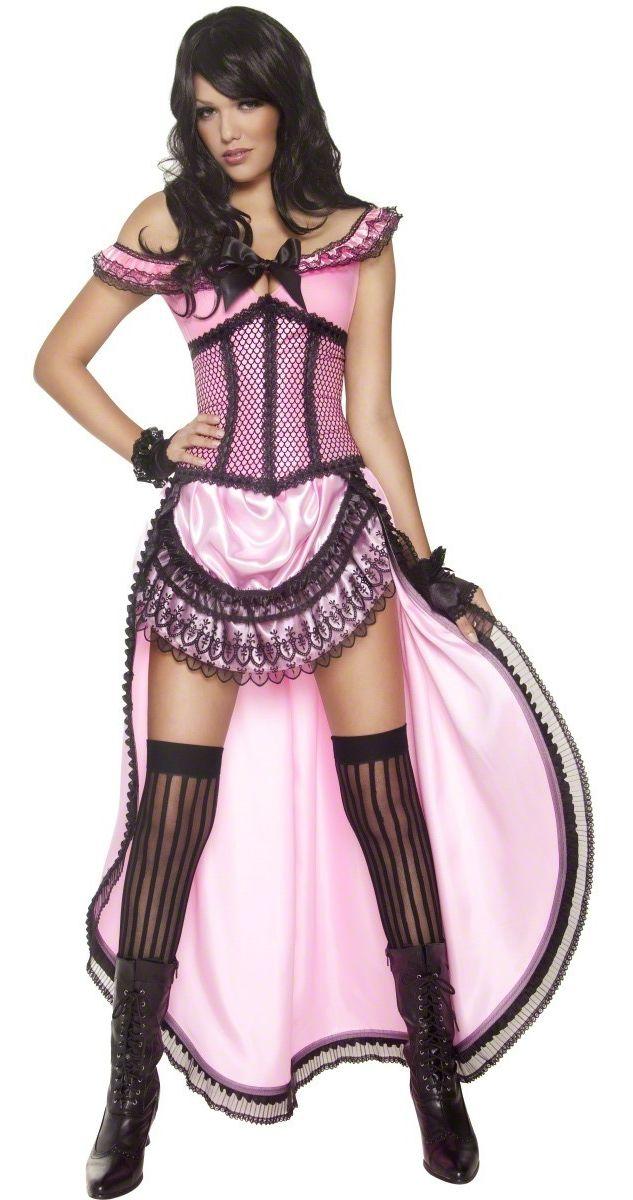 déguisement danseuse saloon