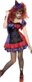 Déguisement clown femme halloween