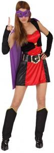 déguisement super héros femme