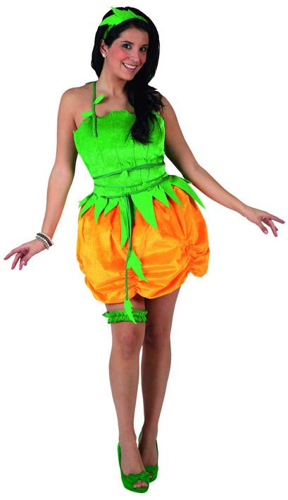 D guisement citrouille femme costume citrouille halloween - Deguisement de citrouille ...