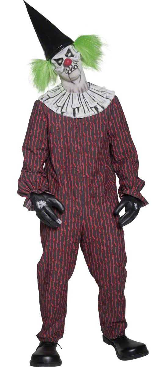 deguisement clown halloween