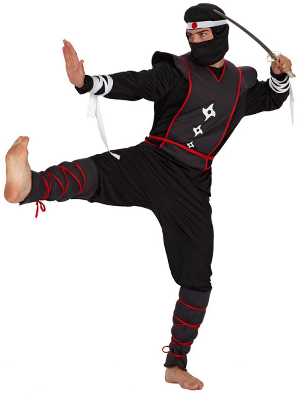 d6f95e7e117035 Déguisement ninja adulte   Guerrier ninja homme