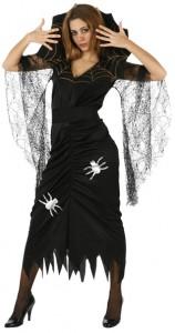 robe araignée halloween