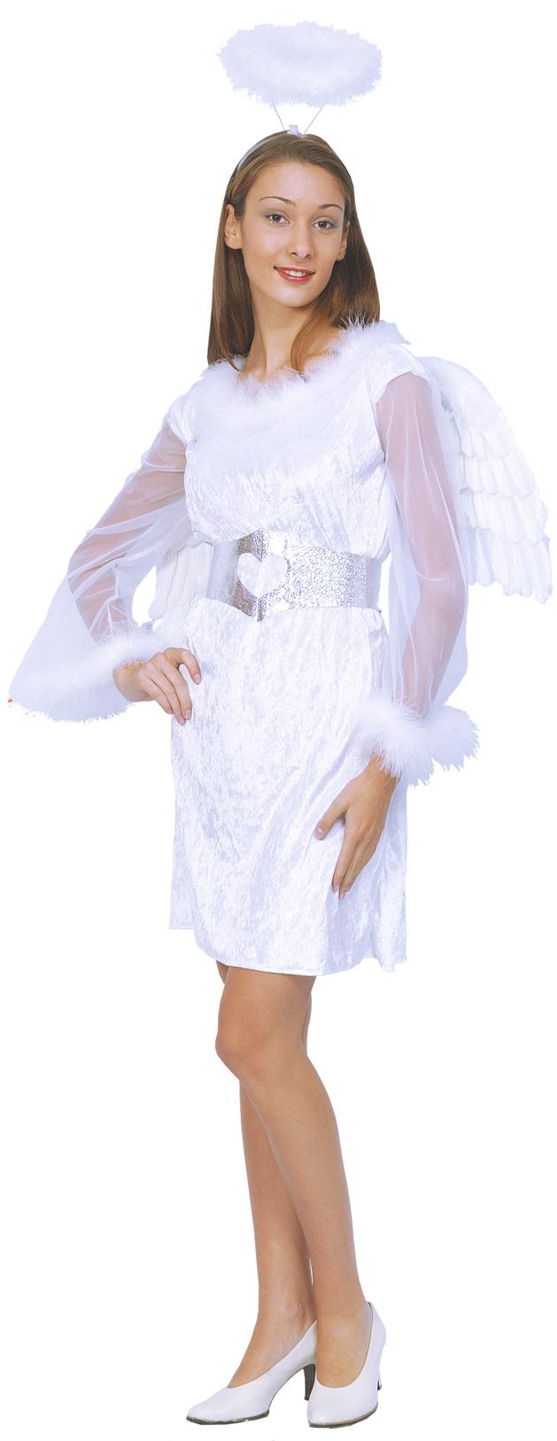 Déguisement ange noel femme   Robe ange blanche noel 4a272c4e7ab0