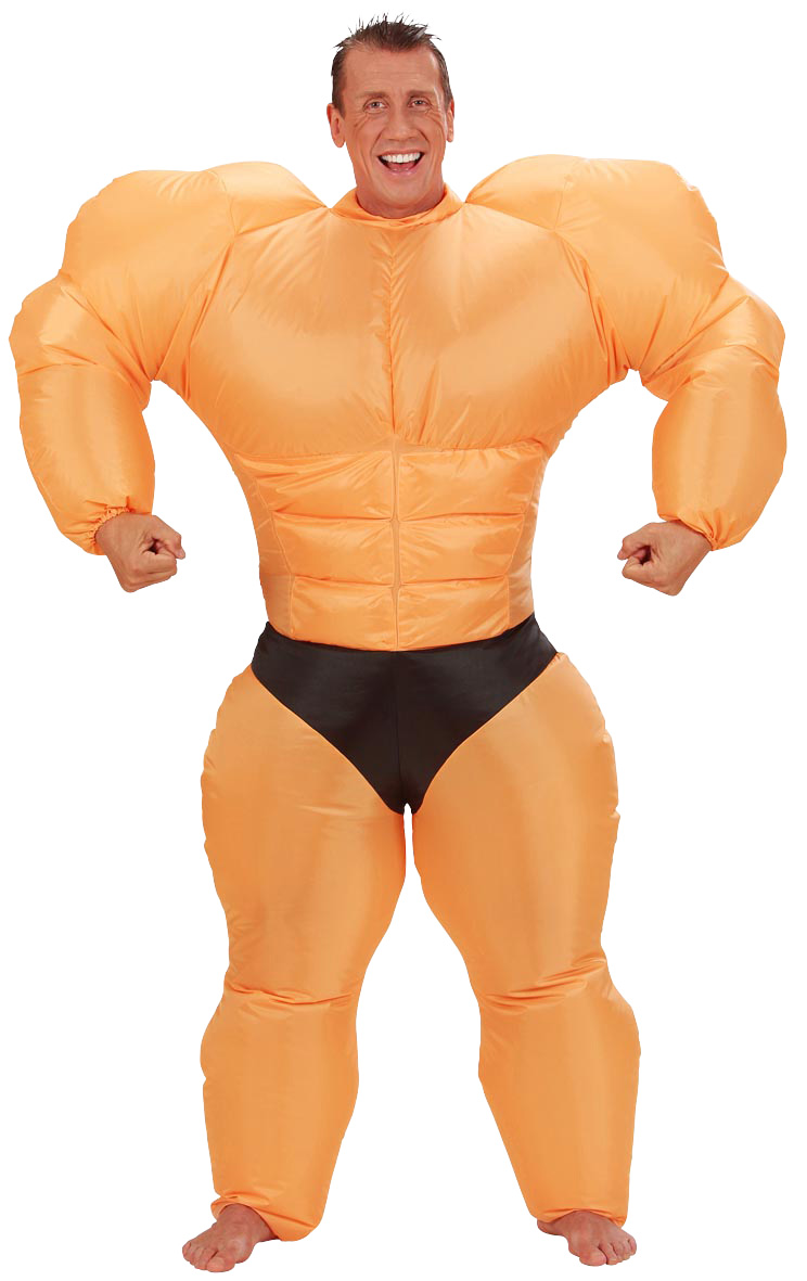 déguisement bodybuilder gonflable