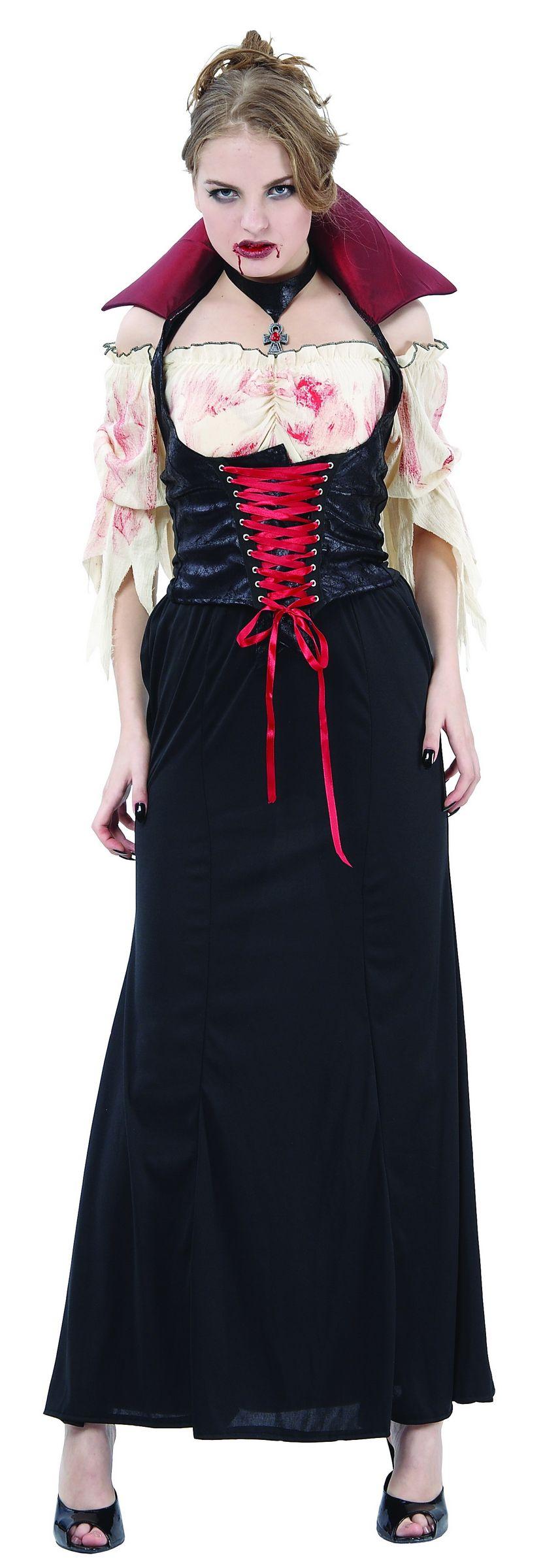 déguisement gothique vampire