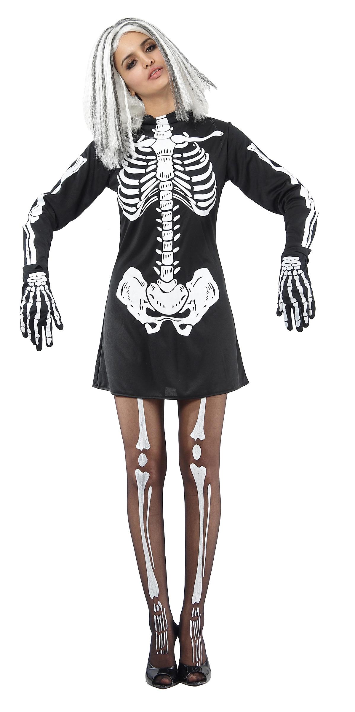robe squelette femme