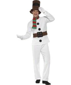 déguisement bonhomme de neige