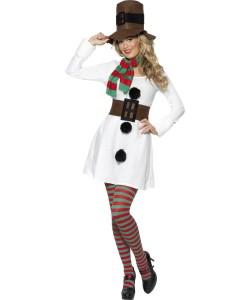 deguisement bonhonne de neige femme